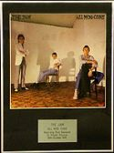 THE JAM  - Framed LP Cover - ALL MOD CONS